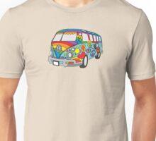 Painted VW Hippie Van  Unisex T-Shirt