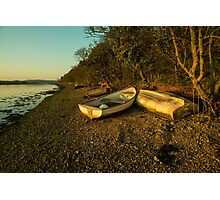 Axe estuary twylight  Photographic Print