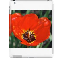Stop and Smell the Tulips iPad Case/Skin
