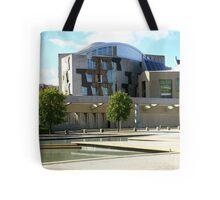Scottish Parliament Edinburgh Tote Bag