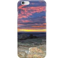 Cadillac Mountain 5:31 am iPhone Case/Skin