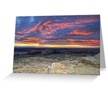 Cadillac Mountain 5:31 am Greeting Card