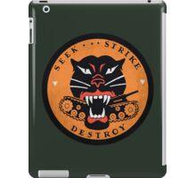 Seek Strike Destroy Tank Destroyer Emblem iPad Case/Skin