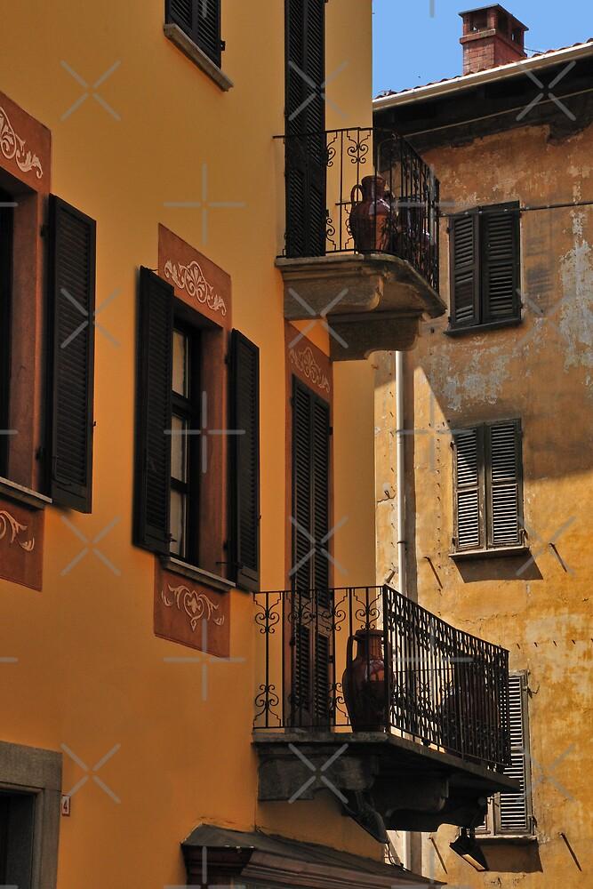 Balconies and Doors by MaluC