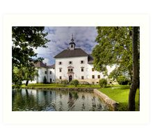 Schloss Rothenthurn Art Print