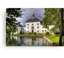 Schloss Rothenthurn Canvas Print