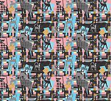 Picasso's cats by kociara