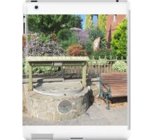 Country Town of 'Lobethal', Pioneer Well built 1886. Adelaide Hills. iPad Case/Skin