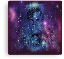 Matt Smith Galaxy Pillow/Tote Canvas Print