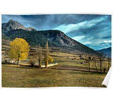Unreal landscape Poster