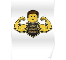 Lego Street Workout Poster