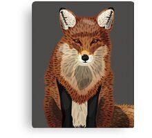 Artistic Fox Canvas Print