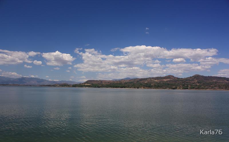 Lago Suchitlan, El Salvador by Karla76