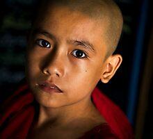 Novice Monk by Kevin Hayden