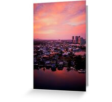 Dreaming, after all, is a form of planning. Greeting Card