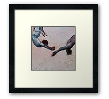 Trust Abstract Print Framed Print