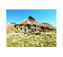 Sheep Rock, Eastern Oregon Art Print
