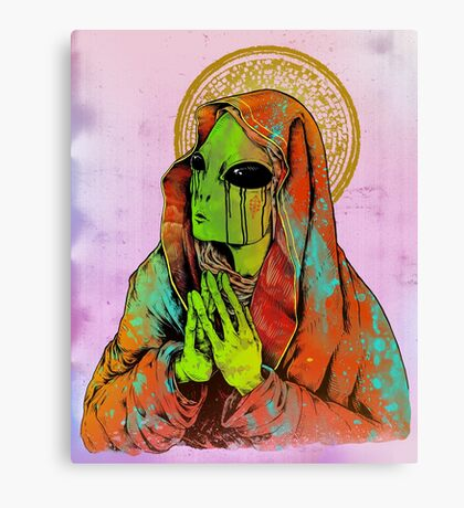 The Virgin Mother Canvas Print