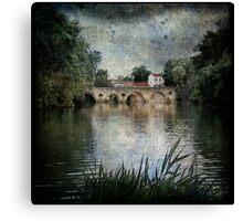 Ancient Bridge Canvas Print