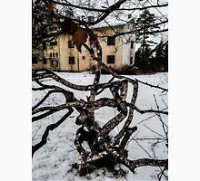 Abandoned Institution & Twisted Tree Unisex T-Shirt