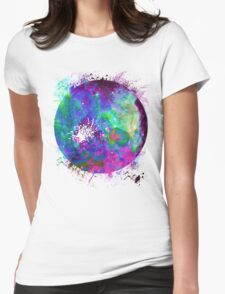 Psychedelic Space Womens Fitted T-Shirt