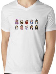 Michael Tiggles Mens V-Neck T-Shirt