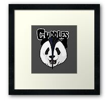 the misfits cute panda bear parody Framed Print