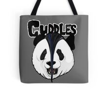the misfits cute panda bear parody Tote Bag