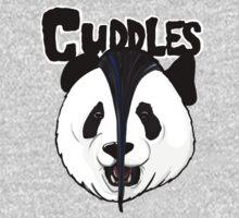 the misfits cute panda bear parody One Piece - Short Sleeve