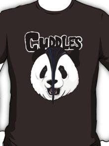 the misfits cute panda bear parody T-Shirt
