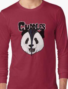 the misfits cute panda bear parody Long Sleeve T-Shirt