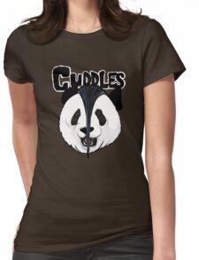the misfits cute panda bear parody Womens Fitted T-Shirt