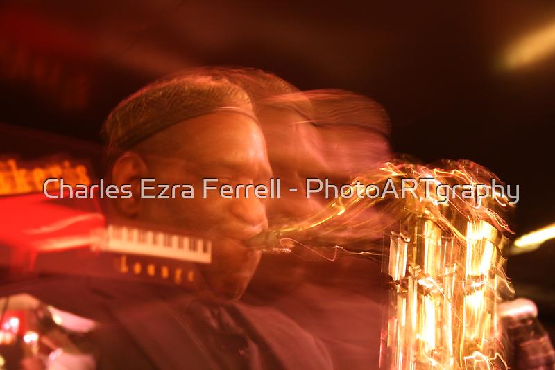 Allan Barnes - Fury at Baker's Keyboard Lounge by Charles Ezra Ferrell - PhotoARTgraphy