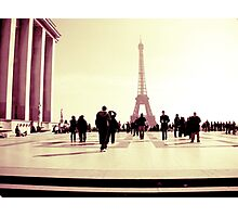 Paris is an everlasting love Photographic Print