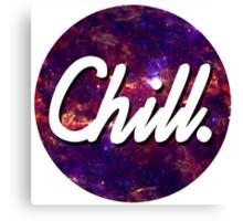 Chill Circle 2 Canvas Print