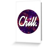 Chill Circle 2 Greeting Card
