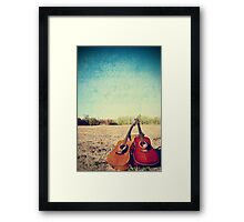 ...Are You Listening? Framed Print