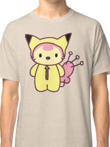 Hello Skitty - Pikachu Classic T-Shirt