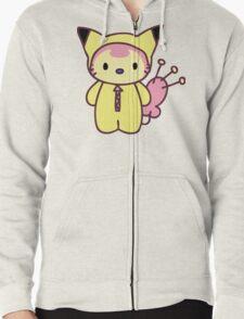 Hello Skitty - Pikachu Zipped Hoodie
