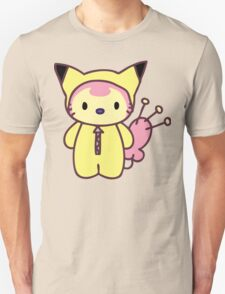 Hello Skitty - Pikachu T-Shirt