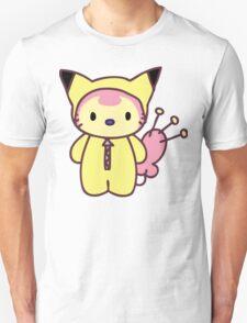 Hello Skitty - Pikachu Unisex T-Shirt