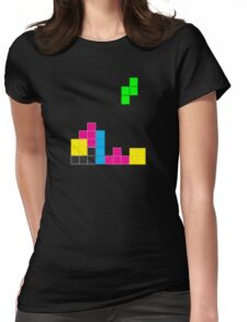 Tetris-T Womens Fitted T-Shirt