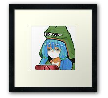 >>>/a/ Pepe Framed Print