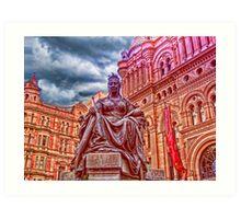 Queen Victoria statue, Sydney, Australia Art Print