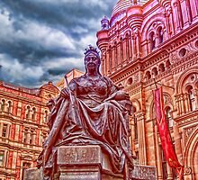 Queen Victoria statue, Sydney, Australia by vadim19