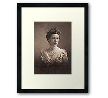 My Grandmother, Blanch E. Smart Framed Print