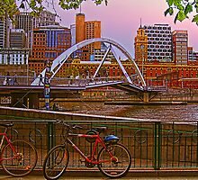 Melbourne in Pink by vadim19