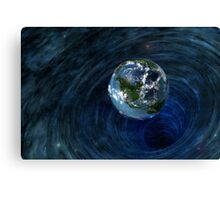 Earth Is In Trouble Canvas Print