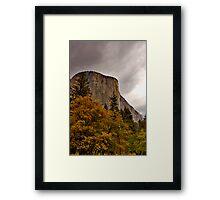 El Capitan Yosemite Fall Colors Framed Print