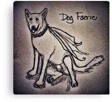 Dog Faerie Canvas Print